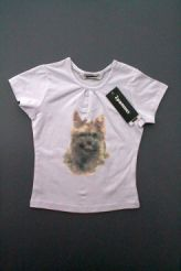 Tee-shirt motif chien neuf 3 POMMES