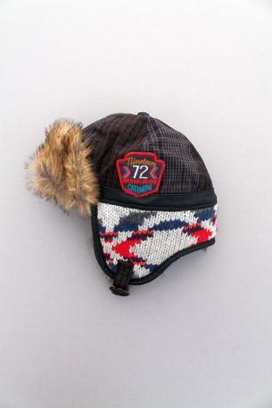 Chapka colorée très chaude doublée polaire hiver style bonnet pilote ... 84f8422be03