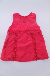 79bc816394648 -50% Robe de cérémonie rose Lili Gaufrette. Robe chasuble rose framboise