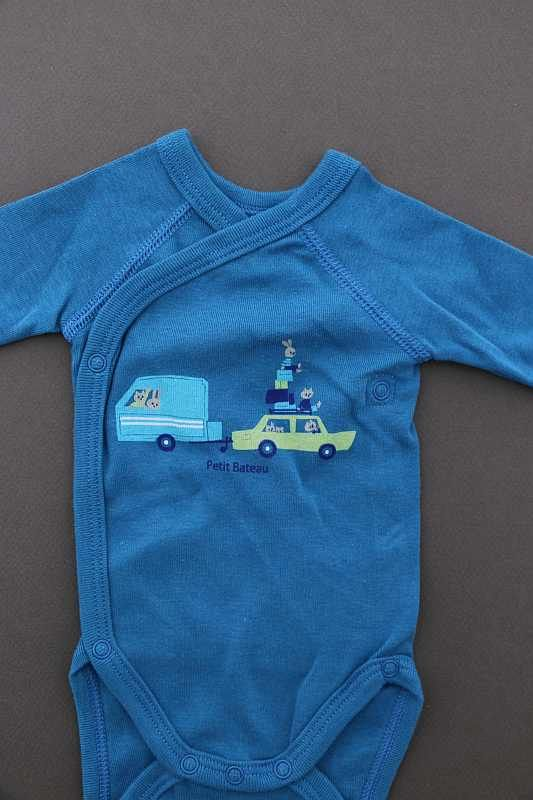 body crois manches longues bleu roi neuf b b gar on naissance petit bateau. Black Bedroom Furniture Sets. Home Design Ideas