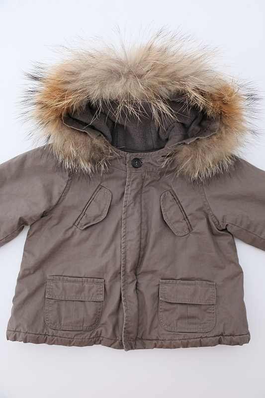 64acf3ca0cd45 Blouson mixte hiver taupe kaki chaud hiver doublé polaire à capuche ...