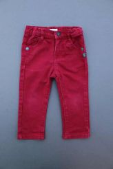 Pantalon jean bordeaux  Absorba